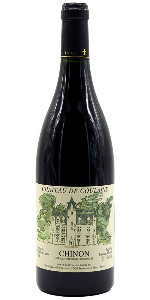 Chateau de Coulaine Chinon 2016