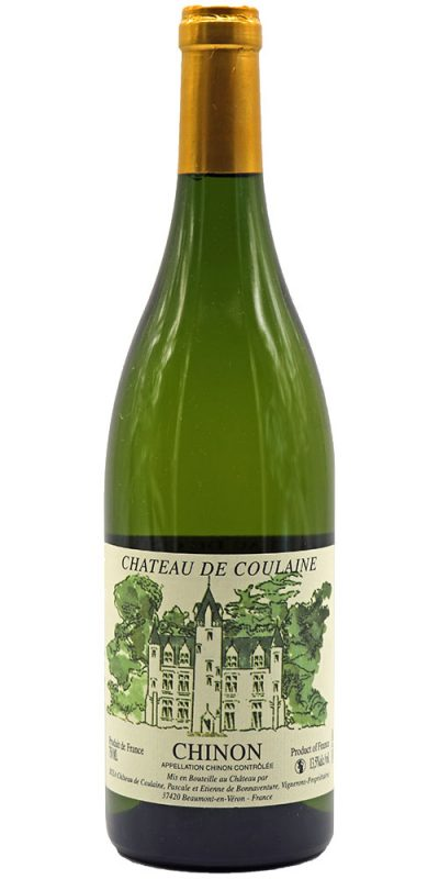 Chateau de Coulaine Chinon Blanc 2014