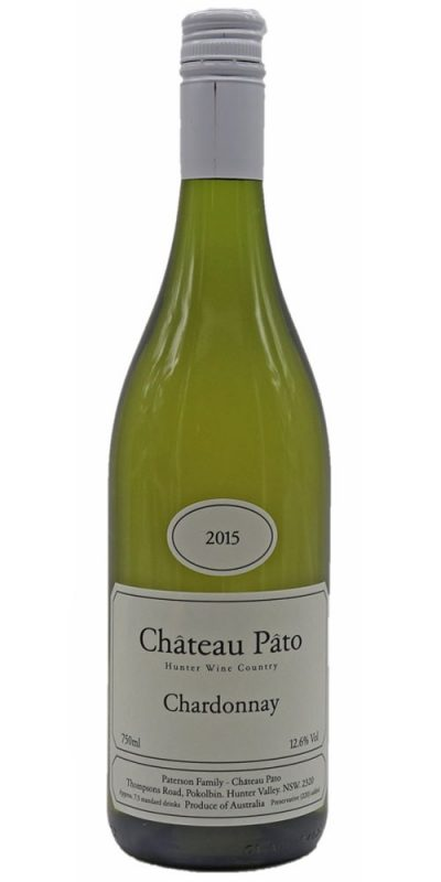 Chateau Pato Hunter Valley Chardonnay 2015