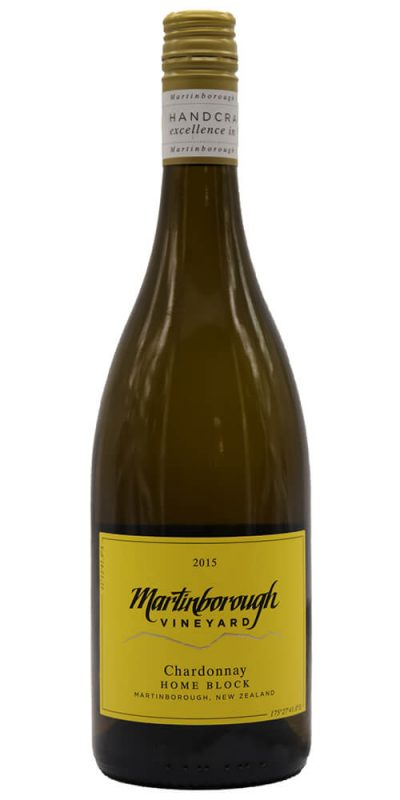 Martinborough Vineyard Home Block Chardonnay 2015