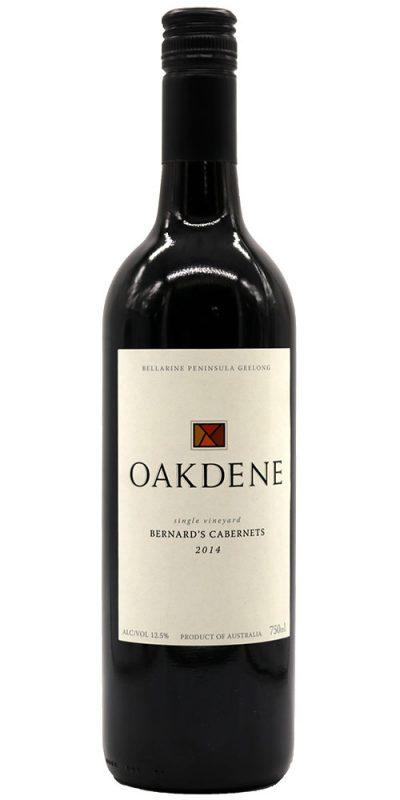 Oakdene Bernard's Cabernets 2014
